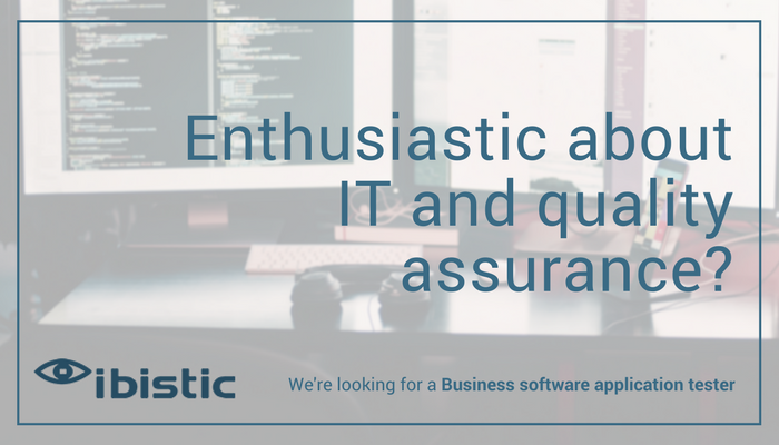 Are you our new colleague? - Business Software Application Tester
