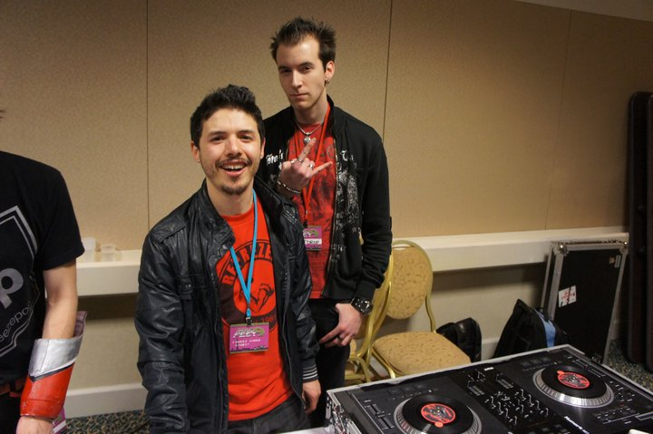 Dain and  A-Rival  at MagFest 2011.