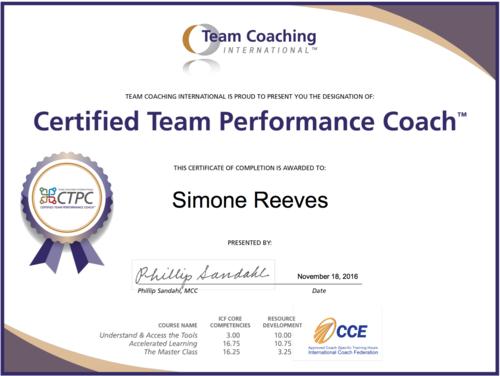 simone reeves | lifestyle, leadership & team coach