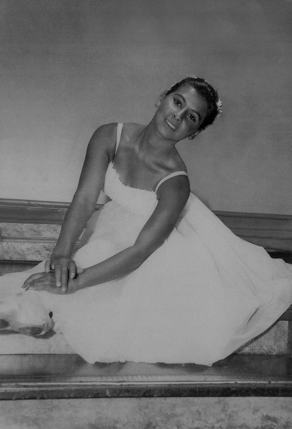Mary Joyce Miller  Photo courtesy of Sunday Times Newspaper Perth 1959, the year Mary Joyce Miller auditioned and was accepted as a member of the West Australian Ballet Company.