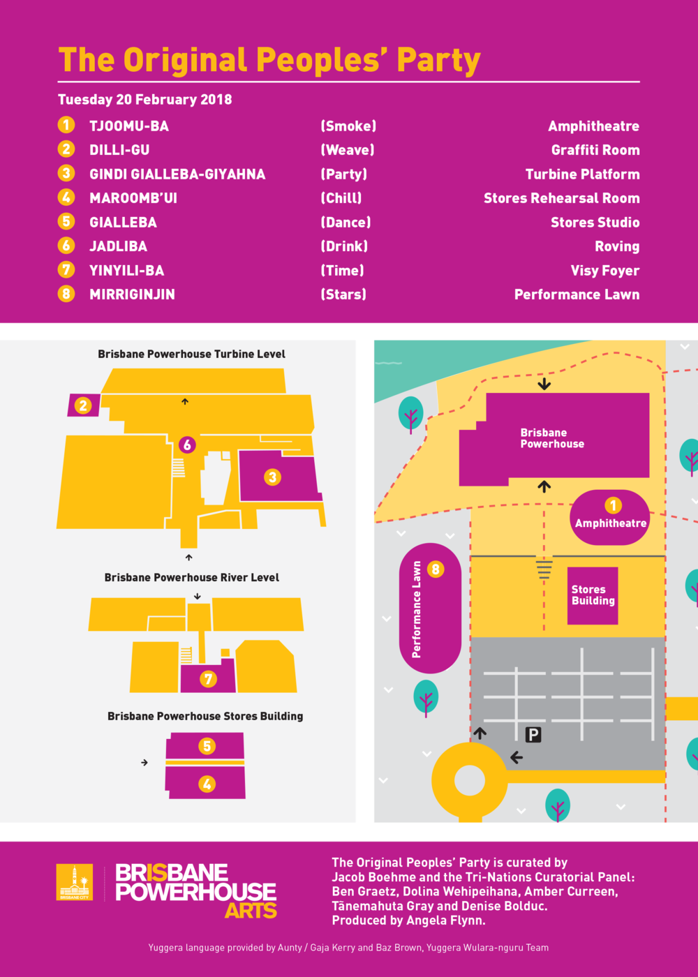 TOPP Venue MAP