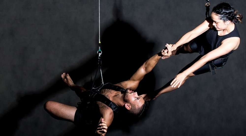 Beyond grief ~ By ROSEMARY NEILL - A cross-cultural aerial show about teen suicide and a stuntman who toys with death?Meet the artists exploring a taboo.