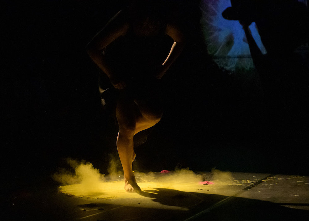 Footwork/Technique  by Mariaa Randall. Image Credit Ian Douglas. Performance Space New York 2019