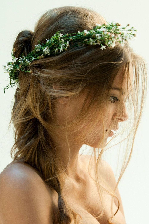 Conosciuto Acconciatura Sposa con i Fiori | Floral Eventi | Quali Fiori Scegliere CA41