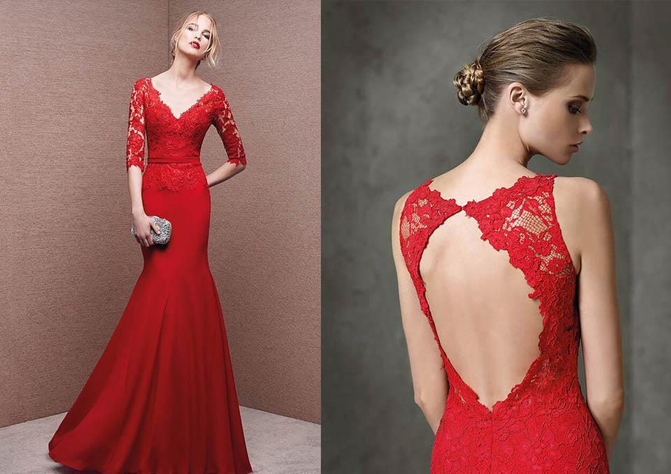 Vestito rosso per matrimonio – Abiti corti 7de53456101