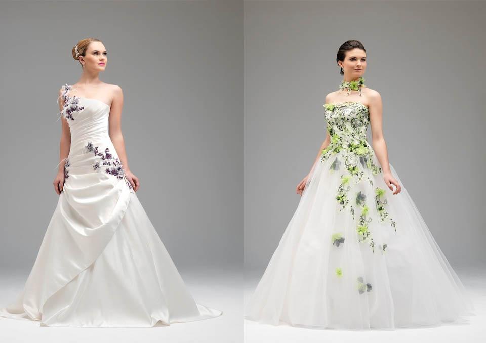 Amato ABITO COLORATO PER UNA SPOSA ORIGINALE — Wedding Langhe e Roero AC01