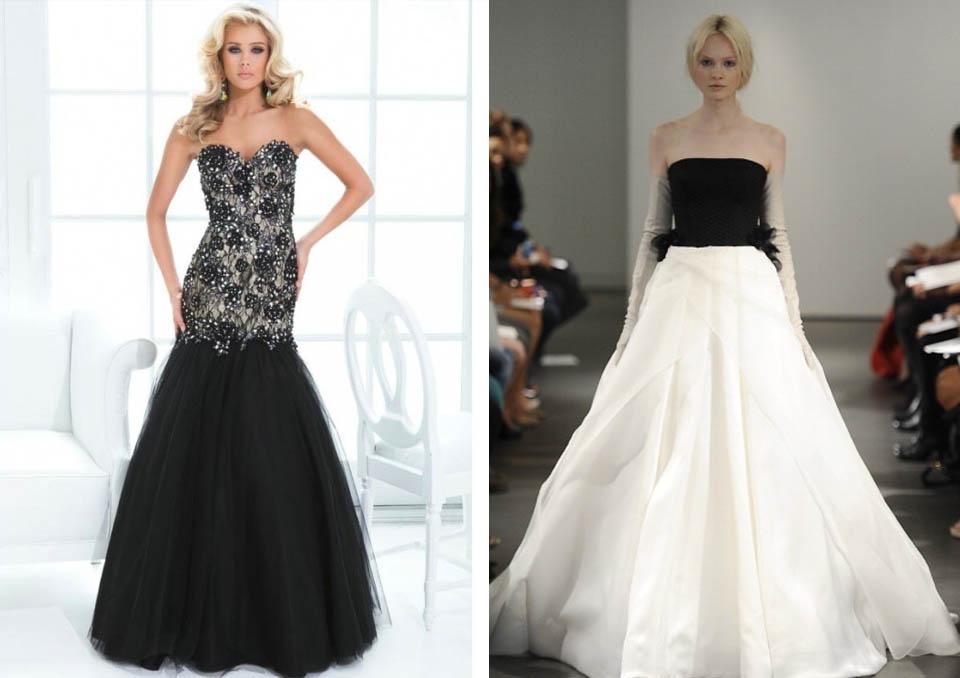 Matrimonio In Abito Nero : Matrimonio abito bianco e nero su abiti da sposa italia