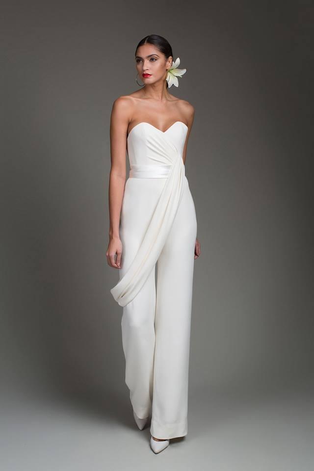 Abiti da sposa pantalone 2016