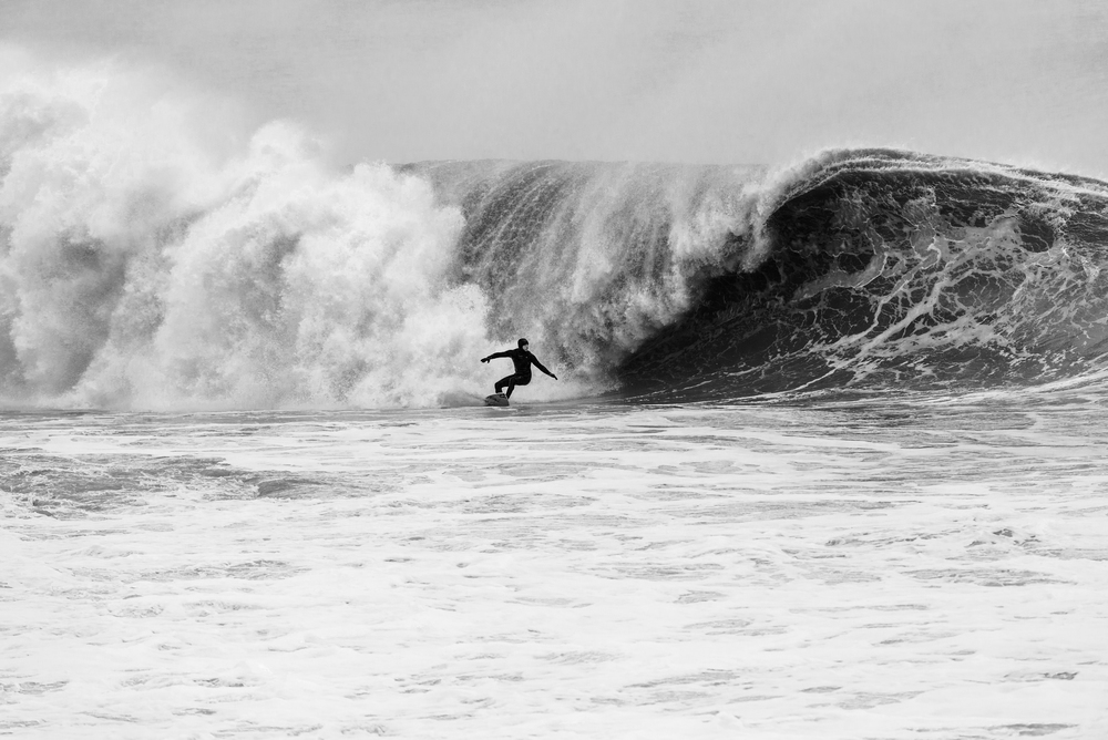 Sam Hammer 's bomb at Bay Head, NJ. Photo:  Joanne O'Shaughnessy