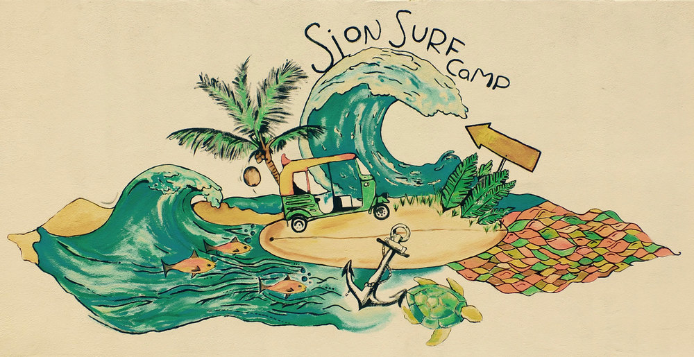 A surf camp?? It could be yours....