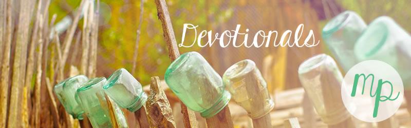 Devotionals Mason Jars