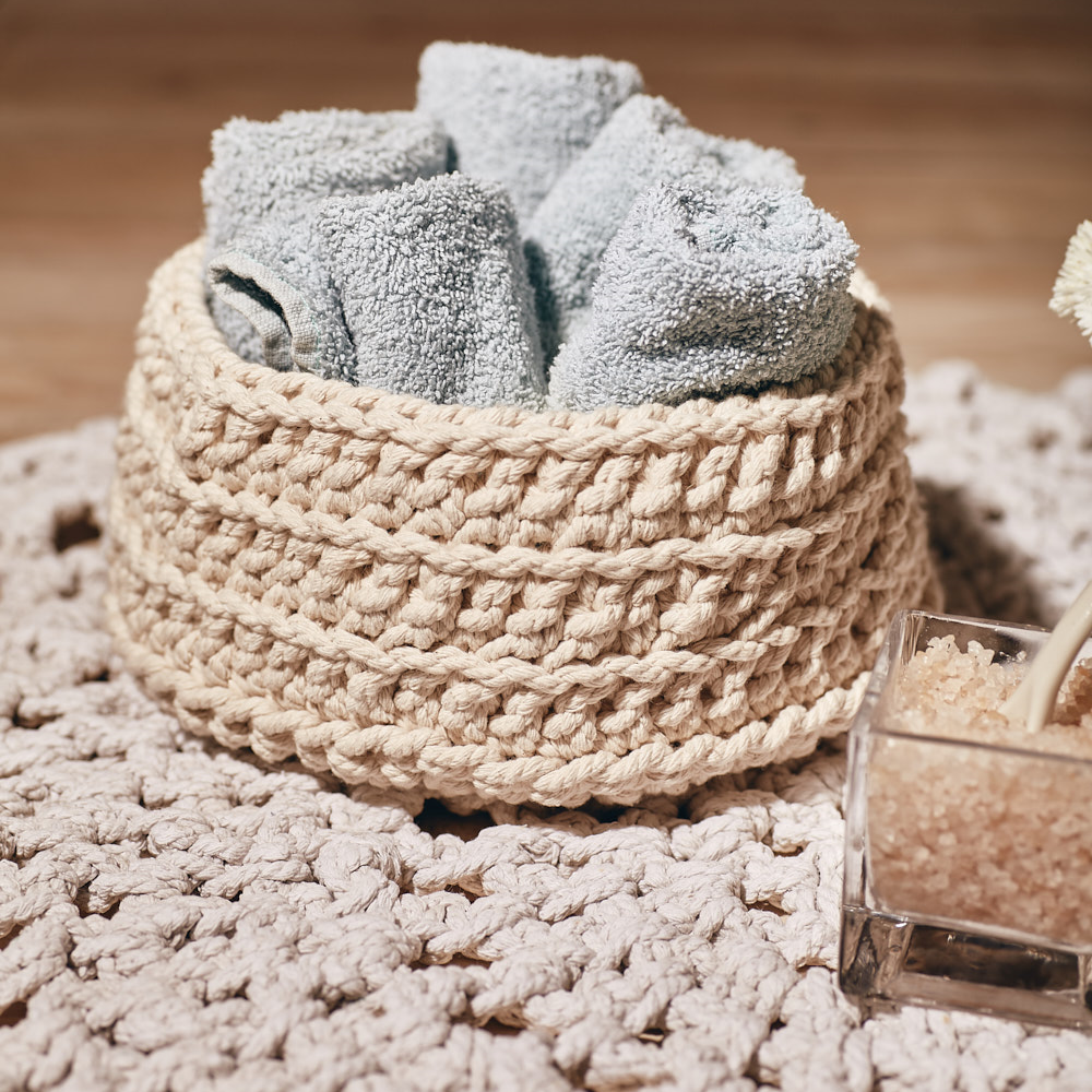 Chunky Cotton Basket