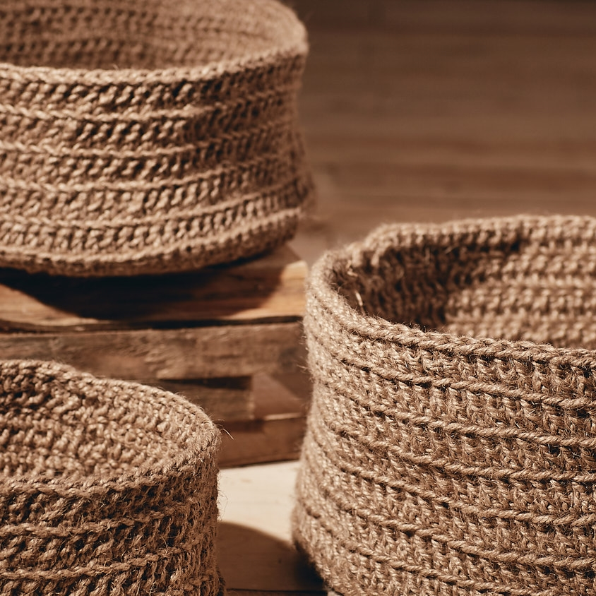 Eco-twine Basket