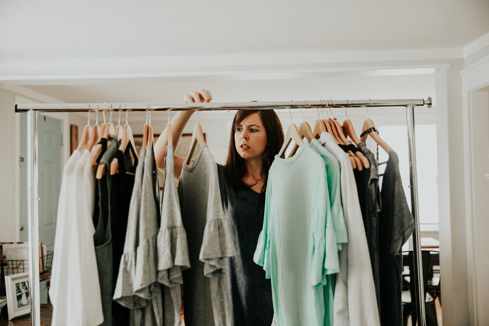 curating simple, beautiful clothes you can feel great in