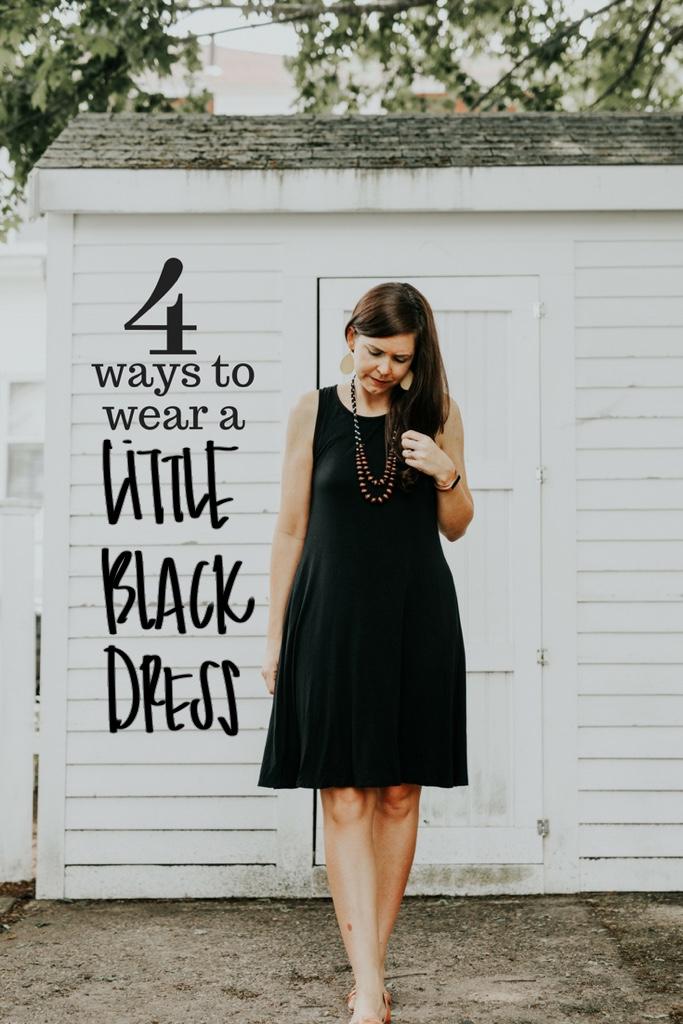 4 ways to wear a little black dress : one delightful shop