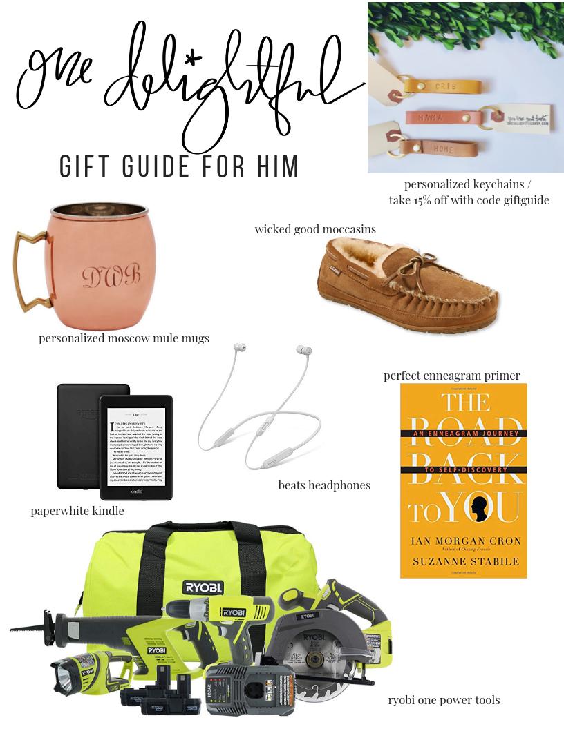 one delightful shop / holiday gift guide / 2018 onedelightfulshop.com