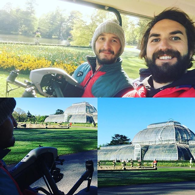 Early morning at #kewgardens #djipilot. First flight with the I2 . . . . . #drone #droneporn #dronie #setlife #behindtheclapperboard #inspire2 #djiglobal #dronepilot