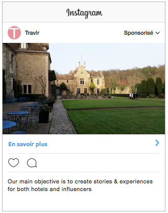 Instagram show ads in a smoother way, but the message stays the same