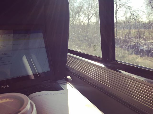 Not too shabby of a #morning #commute! En route to conduct a #SQV in #Delaware! How are you guys spending your Friday? #TGIF #CRAgrams #amtrak #acelaexpress . . . . . . #blogger #benchtoclinicalresearch #clinicalresearch #clinicalresearchcareers #clinicalresearcher #clinicalresearchassociate #CRA #CCRA #ACRP #CRAlifestye #CRAlife #fuckcancer #curecancer  #benchtoclinicalresearch #oncologytrials #oncologyresearch #immunotherapy #careergoals #career #womeninscience #blogger #scienceblogger #researchblogger #CRAblogger