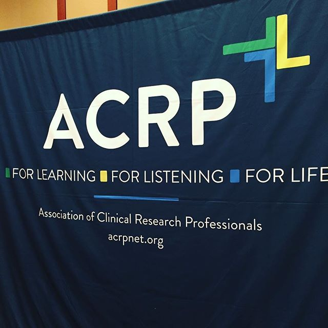 Thank you #ACRP for a great conference! My #firsttimer experience was amazing!! So grateful to be connected with such truly amazing individuals and teams, who all share a common mission! #clinicalresearchprofessionals #forlearning #forlistening #forlife #ACRP2017 🤓🙌