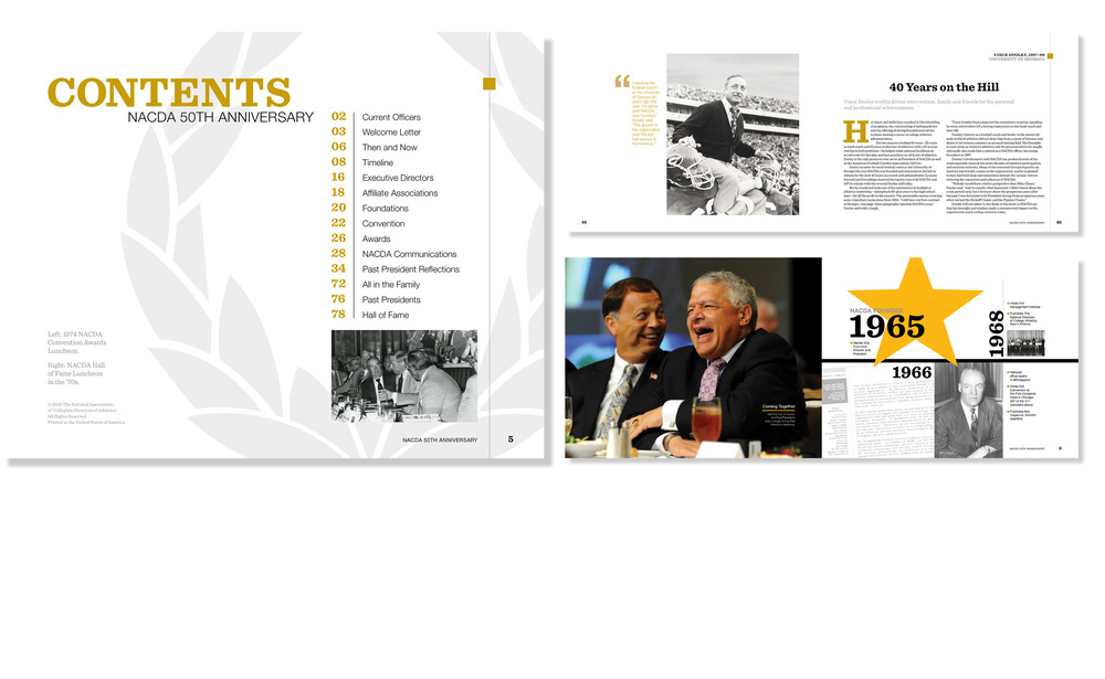 NACDA 50th anniversary book