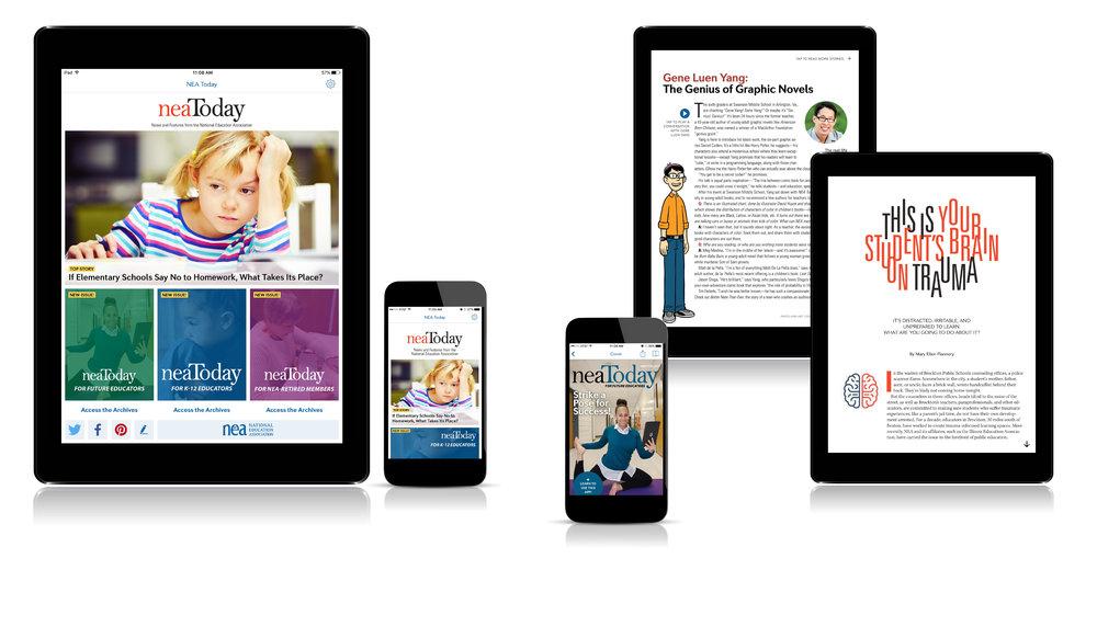<i>NEA Today</i> magazine app