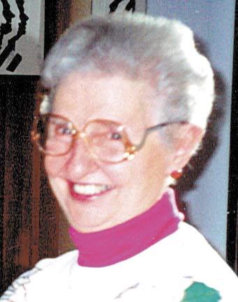 My mom, Louise Ann Sickman