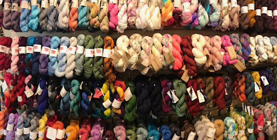 Sock yarn Wall at Spun Ann Arbor.jpg