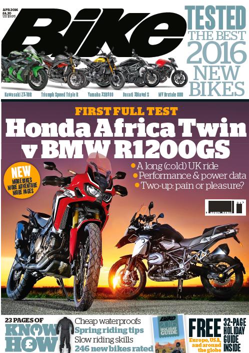 Bike magazine April issue