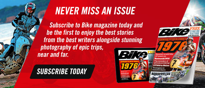 Subscribe to Bike magazine