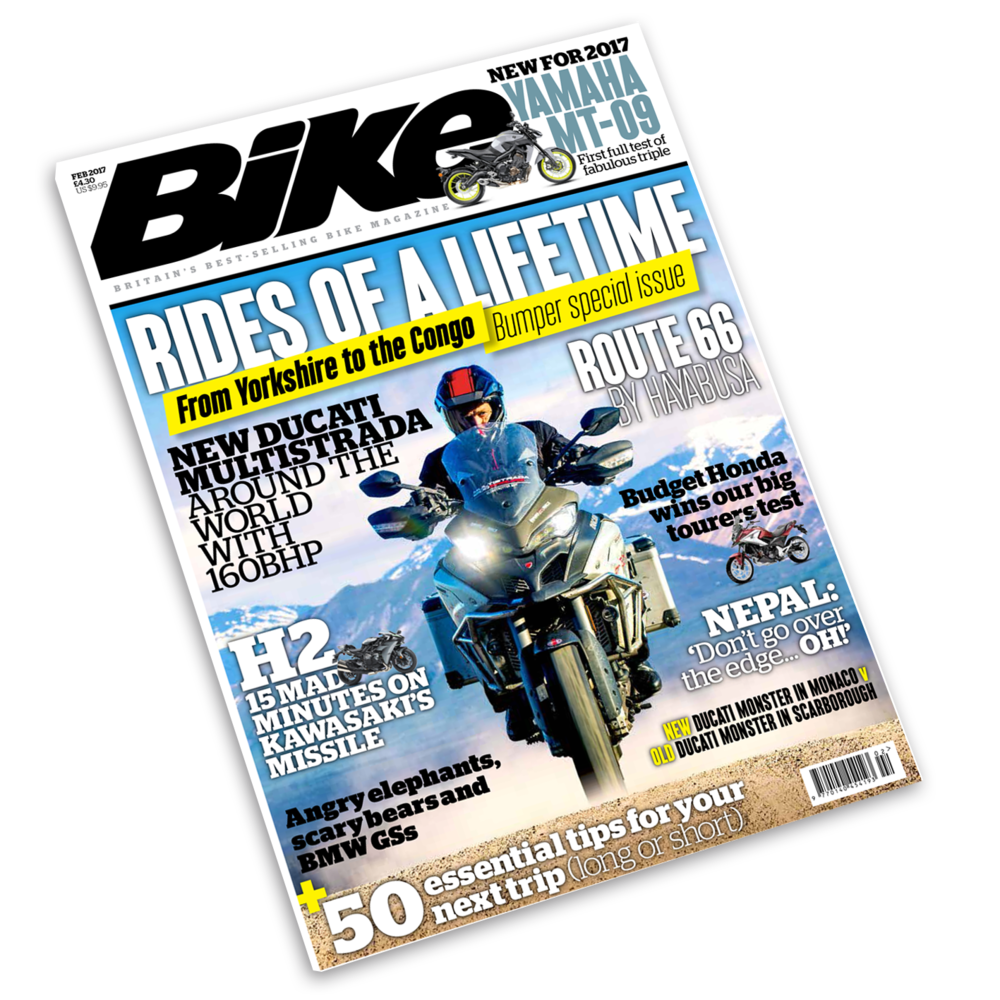 Bike magazine September issue