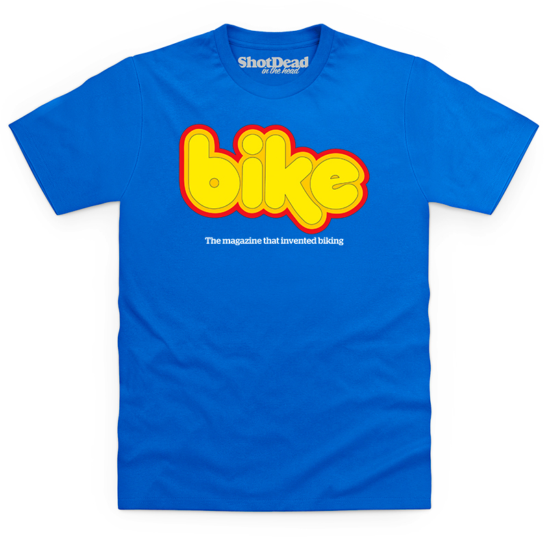 Bike magazine logo (early 70s) T-shirt