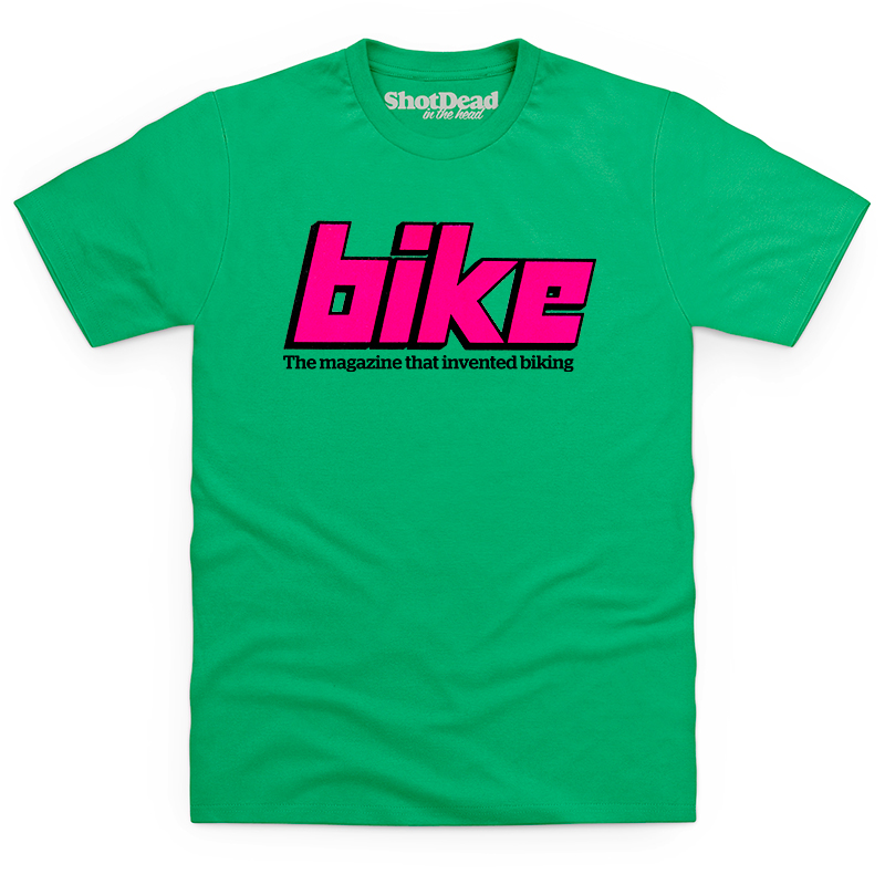 Bike magazine logo (late 70s) T-shirt