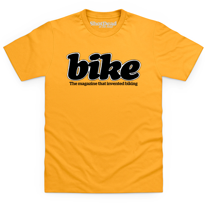 Bike magazine logo (80s) T-shirt