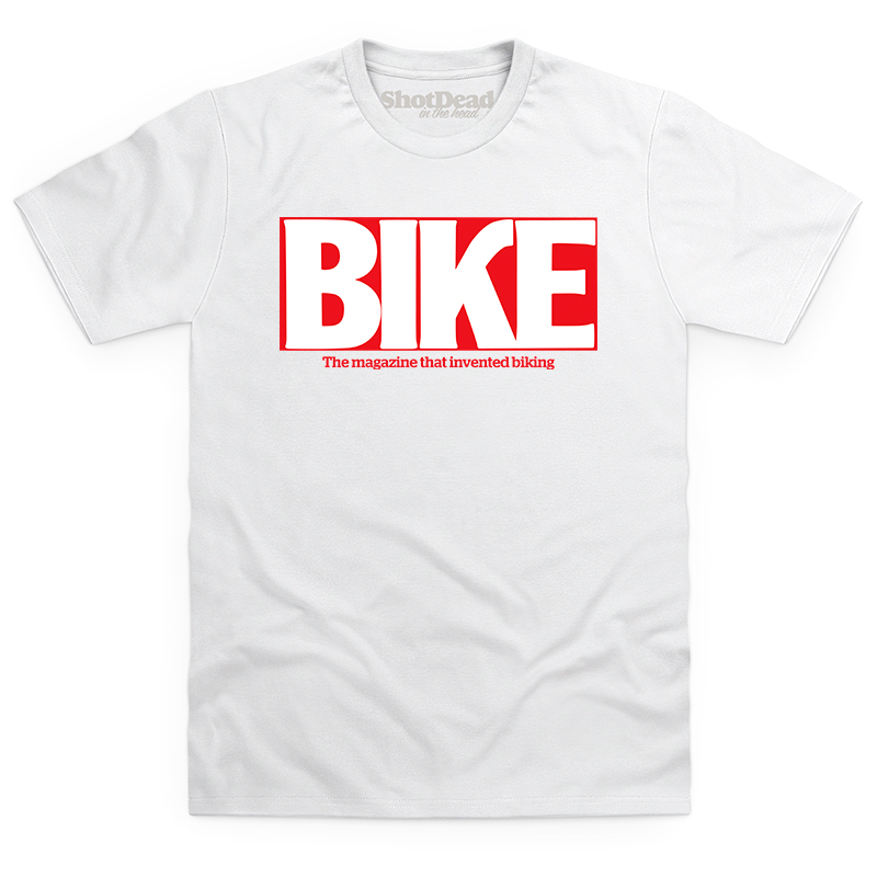 Bike magazine logo (90s) T-shirt