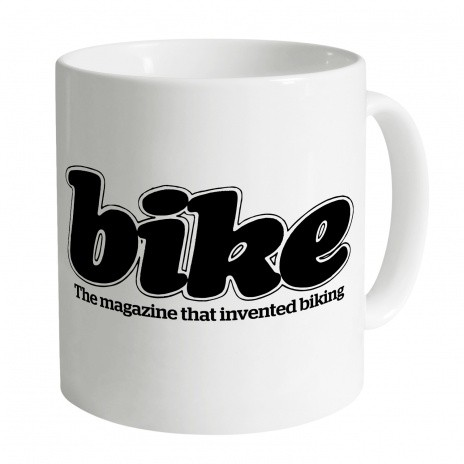 Bike magazine logo (80s) mug