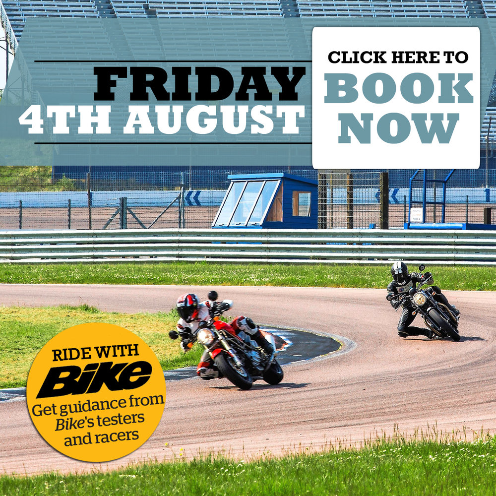 Book a road bike only trackday
