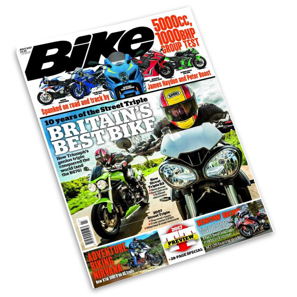 Bike magazine may issue