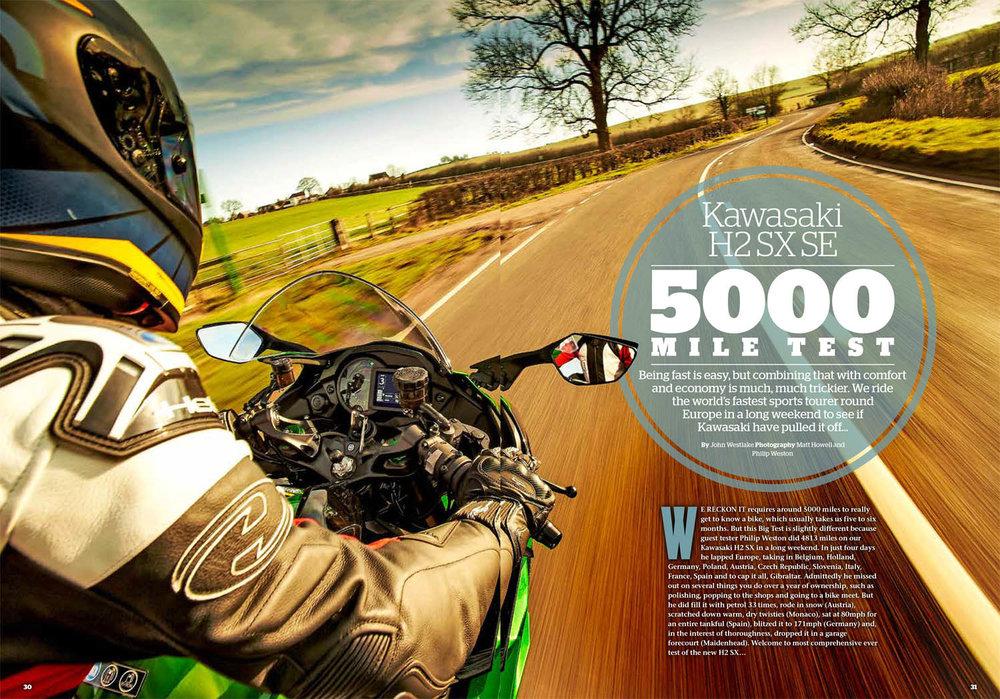 5000 mile test