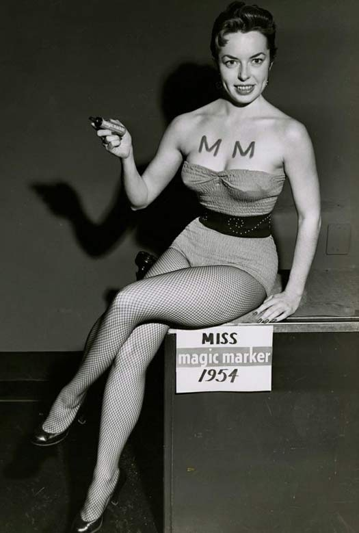 Miss Magic Marker, 1954