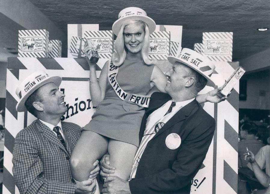 Miss Junior Civitan Fruit Cake, 1968