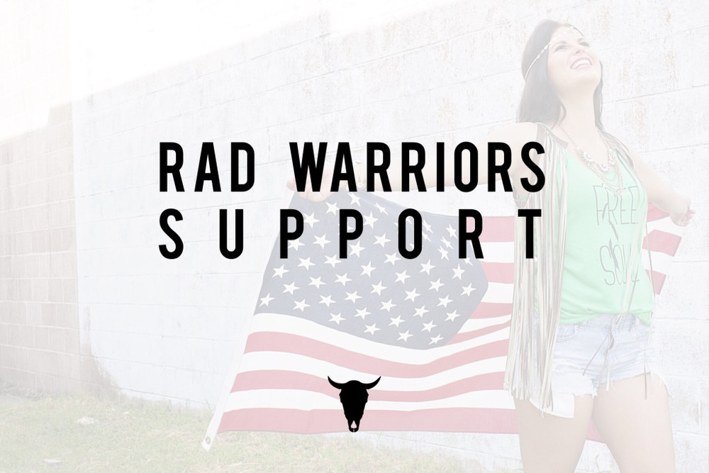 Rad Warriors Support Mission - Rad Maverix Brand