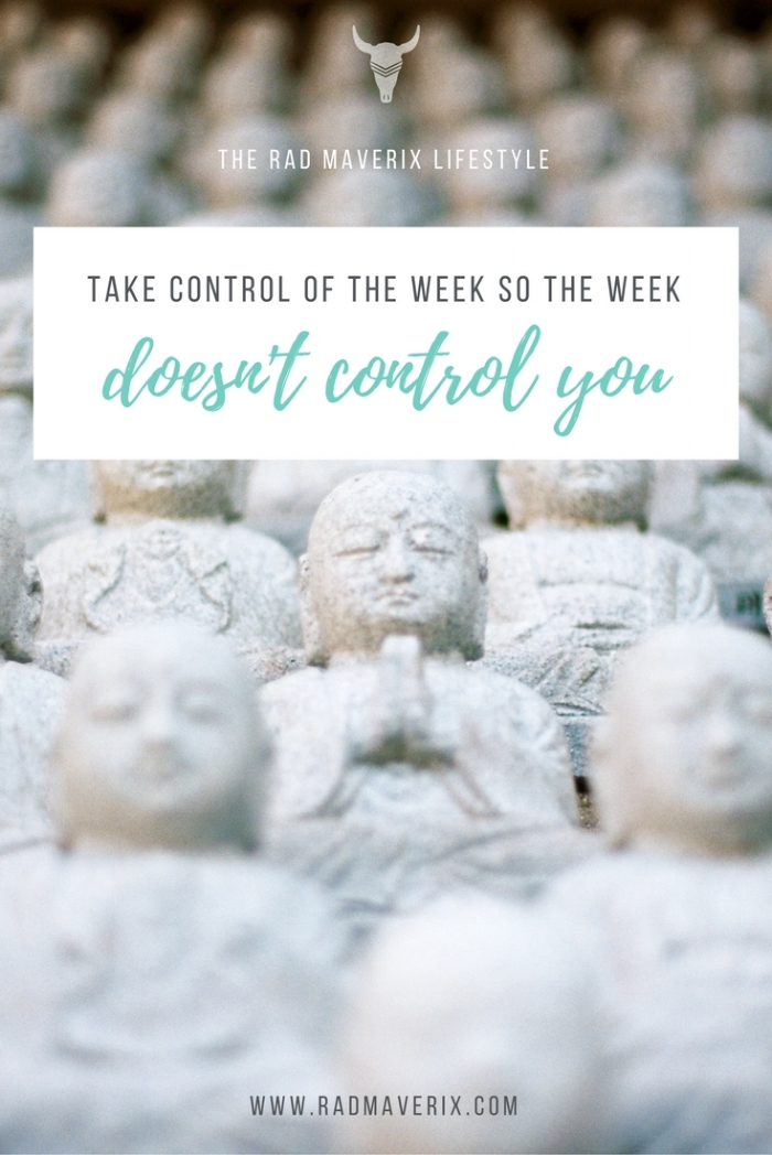 Take Control of The Week