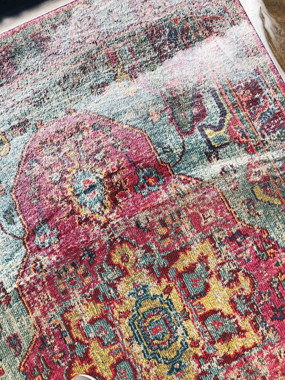 How to deep clean area rugs