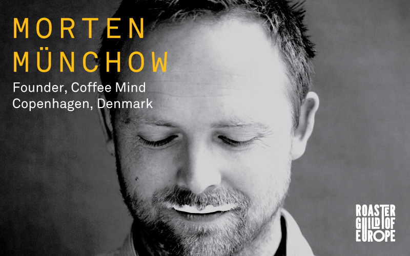 Morten Münchow    CoffeeMind  | Copenhagen, Denmark   Morten Munchow, founder of CoffeeMind, is a man of many hats: as trainer, consultant, and researcher, Morten can be found at the University of Copenhagen, where he is an external lecturer in the department of food science, at the London School of Coffee, where he has taught coffee roasting since 2007, or hard at work with the SCAE Education and Research committees, where he developed SCAE's roasting certification system.   Morten has conducted research on cappuccino foam chemistry, processing methods, starter cultures, sensory science, roasting defects, behavioural economics of consumer preferences, and roast degree preferences. He has also regularly consulted with a variety of different sized roasteries around the world, from South Africa to South Korea and Iceland to Kuwait and many more in between.