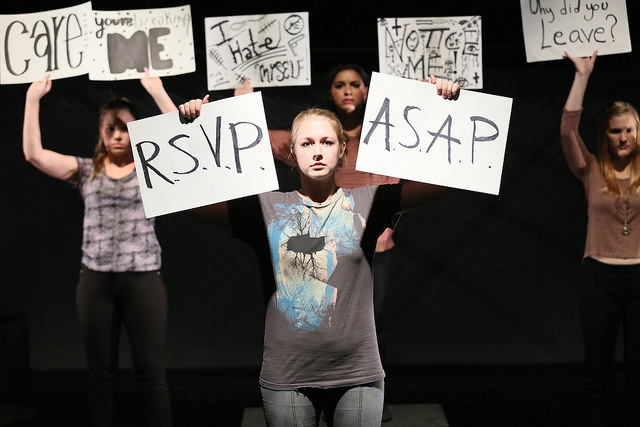4:48 Psychosis Directed by Paul Backer, USC School of Dramatic Arts. Resident Movement Coach: Anastasia Coon