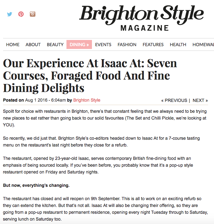 Brighton Style Magazine