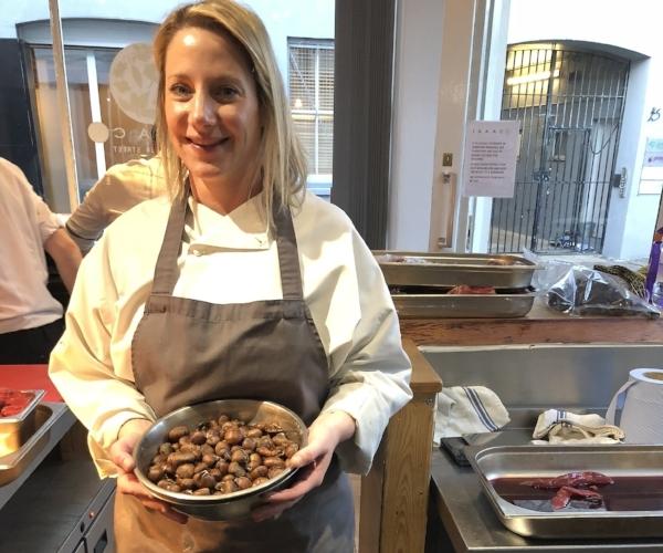 Emma turns chef