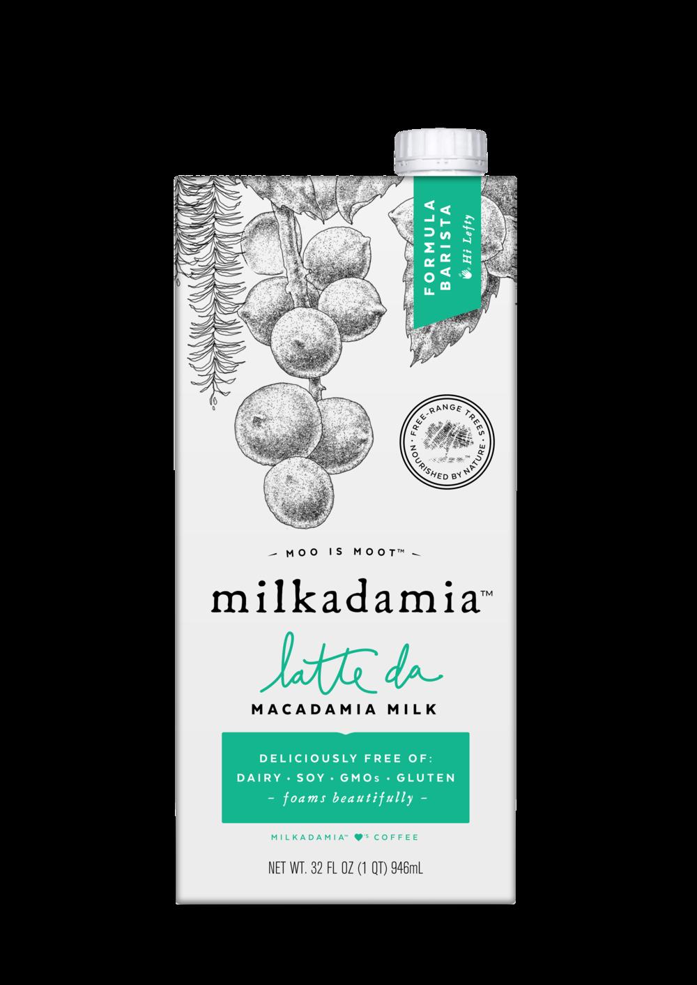 milkadamia latte da barista