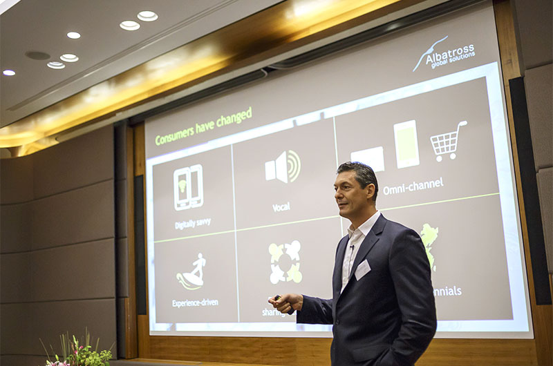 Christophe Caïs, Albatross Global Solutions, gibt einen Ausblick über die Zukunft von Luxusmarken